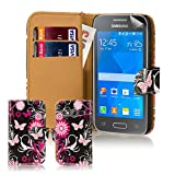 32nd® Designer PU-Leder Schutzhülle für Samsung Galaxy