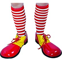 P tit payaso re72155 – Calcetines de payaso rayas rojo ...
