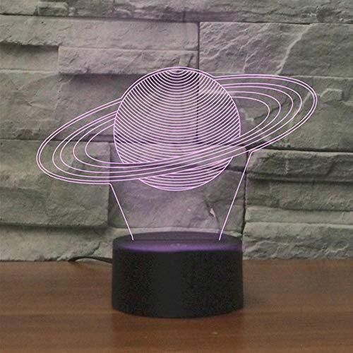 Hopeyard Saturn Touch-Fernbedienung Mit Sieben Farbverläufen Und Nachtlicht