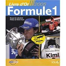 Livre d'Or 2005 formule 1