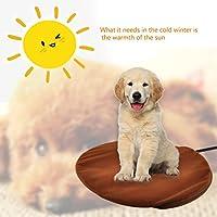 Pet Heizung Pad, Katze Heizung Pad Wasserdicht Einstellbare Temperatur Elektrische Heizung Pads für Hund/Katze mit Kauen beständig Kordel …