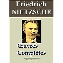 Friedrich Nietzsche : Oeuvres  complètes   (24 titres annotés)