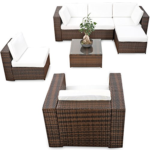 Ecksessel Polyrattan Lounge