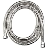 Taptree Stainless Steel 1.5 Meter Flexible Shower Tube (Chrome Finish)