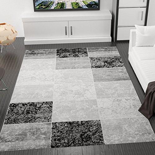 designer-teppich-modern-kariert-marmor-muster-meliert-in-grau-schwarz-weiss-oko-tex-zertifiziert-vim