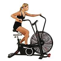 Sunny Health & Fitness Unisex Adult SF-B2729 Tornado Lx Air Bike - Black, One Size