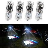 HConce Voiture Porte Lumières LED 3D Voiture Lumière D'entrée D'éclairage Bienvenue Projecteur Lampe Logo Lumière 4 Pièces