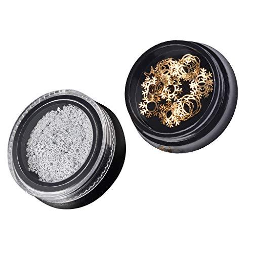 Sharplace Boîte de Nail Cristaux Nail Art Strass Charms pour Décoration des Ongles Artisanat Maquillage des Yeux Vêtements Chaussures