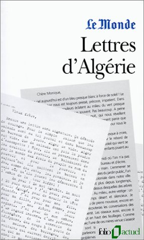 Lettres D Algerie (Folio Actuel)