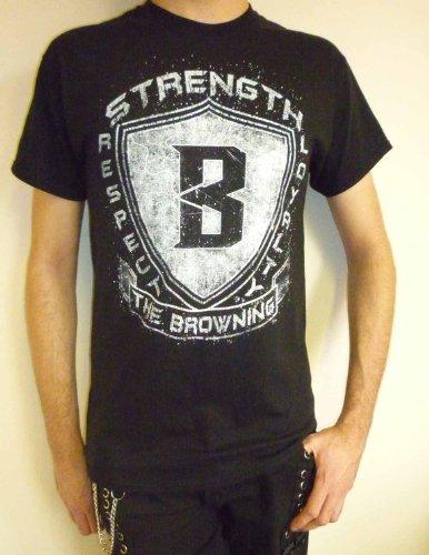 The Browning - Shield T-shirt Schwarz