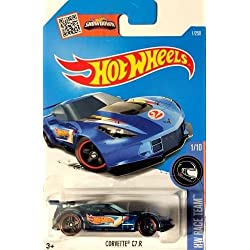 Hot Wheels 2016–Corvette c7.r (azul) N caso # 1. HN # GG _ 634t6344g134548ty65337