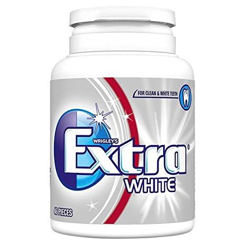 Wrigley Extra blanc Bouteille 46 par paquet