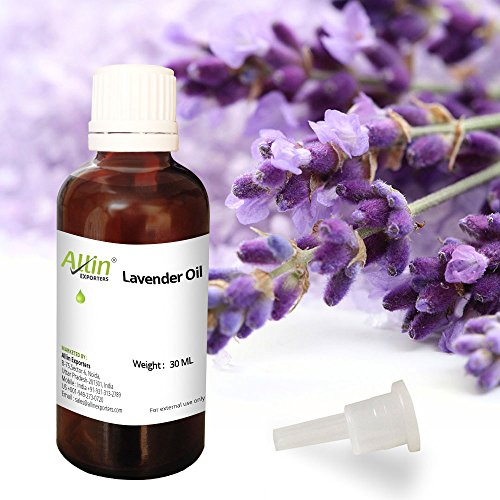 Allin Exporters Lavender Essential Oil 30 Ml 100% Pure, Natural & Therapeutic Grade Choice For Aromatherapy, Massage & Aroma Diffusers