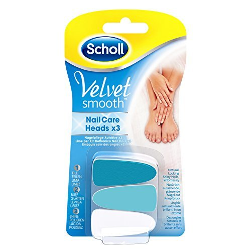 Scholl Velvet Smooth Nail Care System Refills by Scholl