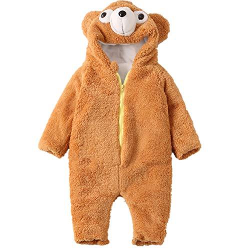 HBOY Vêtements pour bébé Duffy Bear Plus Combinaison en Velours Combinaison pour bébé-90cm