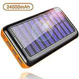 KEDRON Batterie Externes 24000mAh Chargeur Portable avec Deux Entrées et 3 Ports USB...