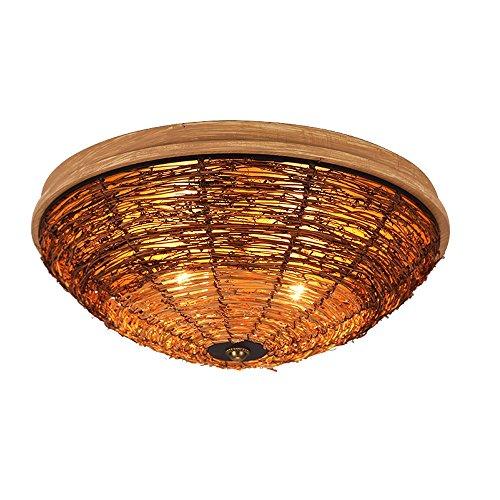 Campagne Ronde Plafonniers Lampes De Salon Lampes De Chambre Révélations Balcon Couloir Barres Lumineuses Taille: 420 * 160mm A+