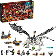 LEGO NINJAGO 71721 Skull Sorcerer's Dragon Building Set with 6 Mini Figures Toy for Kids, 9+ Years (1016 P