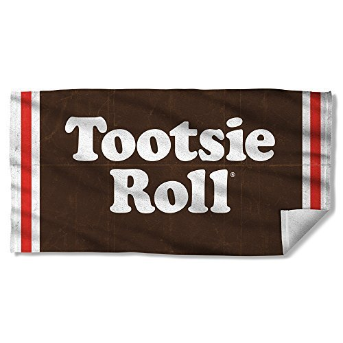 tootsie-roll-wrapper-sublimation-beach-towel-by-trevco