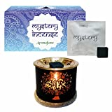 Aromafume Mystery Incense Bricks (Small) & Tree Of Life Exotic Incense Diffuser