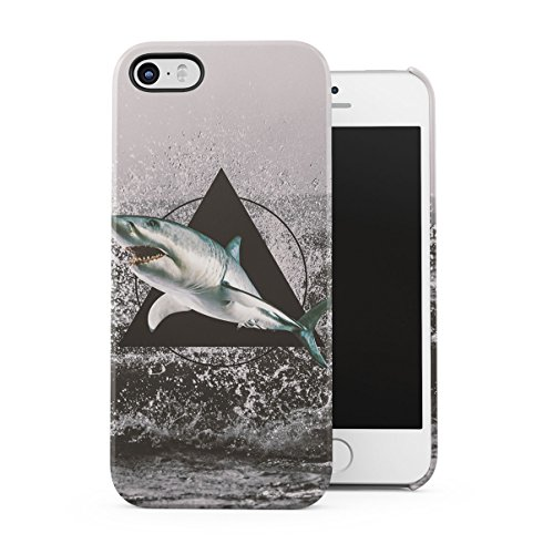 Brown Bear With Sweater Hills Cover Apple iPhone 5 , iPhone 5S , iPhone SE Snap-On Hard Plastic Protective Shell Case Cover Custodia Shark Attack