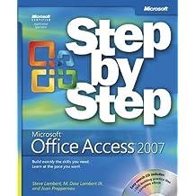 Microsoft Office Access 2007 Step by Step by Lambert, Steve, Lambert, M., Preppernau, Joan (2007) Paperback
