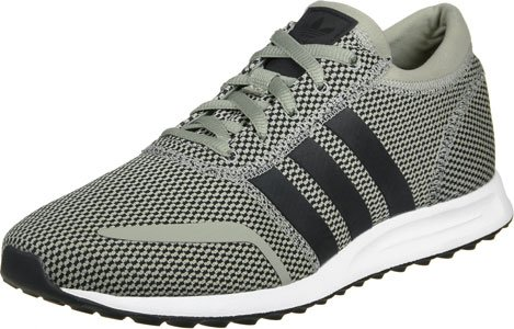 adidas Los Angeles Scarpe Low-Top, Bambine grigio nero