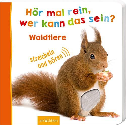 ann das sein? - Waldtiere (Foto-Streichel-Soundbuch) ()
