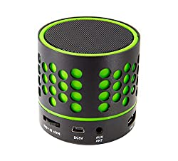 Zebronics ZEB-DOT Bluetooth wireless Speaker with built in FM / USB /SD Card Slot (Green)