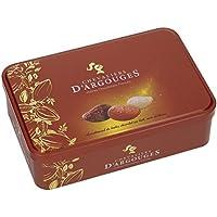 Coffret cadeau Fête des grands-mères - Assortiment de tuiles chocolat noir, lait, blanc 280g - Chevaliers d'Argouges