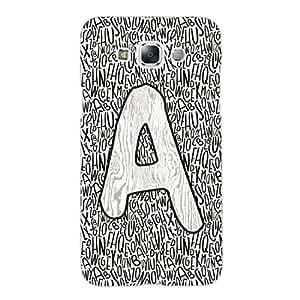 Designer Cute Phone Cover / Case for Samsung E7 - Alpha A