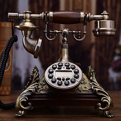 Empire Antik (Telefon Retro Telefon Telefon Schnurgebundenhigh-Grade-Telefon Zu Hause, Antik, Telefon, Empire, Stil, Hintergrundbeleuchtung, Freisprecheinrichtung, Doppel-Glocke, Delux)