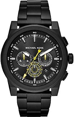 Michael Kors Reloj Analogico para Hombre de Cuarzo con Correa en Acero Inoxidable MK8600