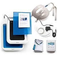 Preisvergleich für Saalio® FA-Set - Iontophoresegerät gegen Schwitzen im Gesicht, an Händen & Füßen
