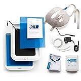 Saalio® FA-Set Iontophoresegerät gegen Schwitzen im Gesicht sowie an Händen und Füßen mit Pulsstrom und Gleichstrom