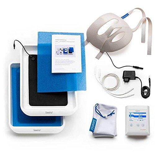 Saalio® FA-Set - Iontophoresegerät gegen Schwitzen im Gesicht, an Händen & Füßen
