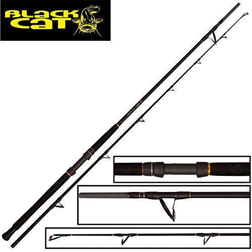 Black Cat The Pellet 2,85m 500g - Wallerrute zum Wallerangeln, Welsrute zum Ansitzangeln, Angelrute zum Ansitzangeln auf Waller