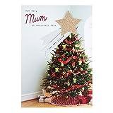 Weihnachtskarte von Hallmark für die Mutter - Größe M die schönste Jahreszeit