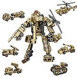 AOTE-D Flugzeug Tank Auto Truck Rakete Kombination Montage 6 Stück Set Spielzeug Split DIY Kind Junge Mädchen Geschenk