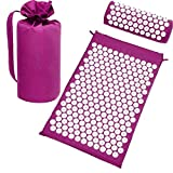Best Acupressure Mats - ASOSMOS Acupressure Massage Cushion Mat with Pillow Review