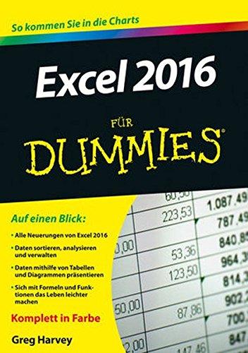 Excel (Excel 2016 für Dummies)