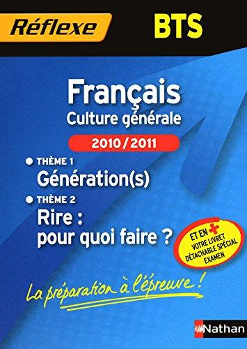 FRANCAIS BTS THEMES 2010/2011