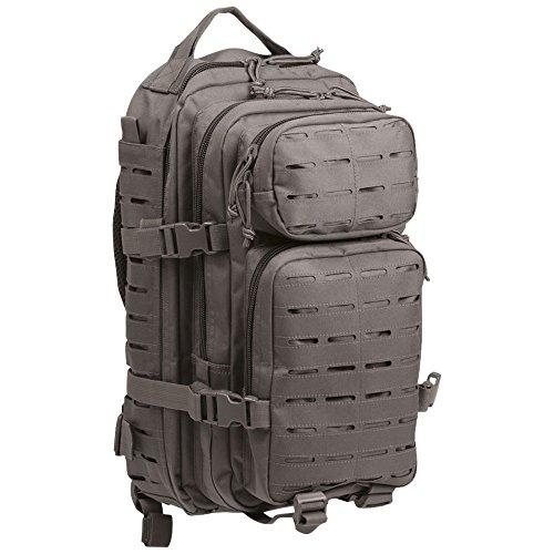 Sac à dos US Assault Pack SM Laser Cut gris urbain