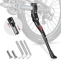 Crislove Pata de Cabra de Bicicleta, Soporte de Bicicleta de Altura Ajustable Adecuado para Bicicleta de Montaña Bicicleta de Carretera Bicicleta para Bicicleta de Niños Bicicleta de Plegable