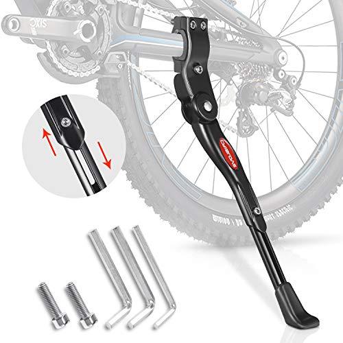 Crislove Fahrradständer für 24-28 Zoll, Höhenverstellbarer Fahrradständer, Fahrradständer Mountainbike, Geeignet für Rennrad Kinderfahrrad