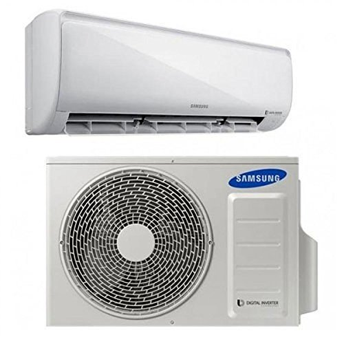 Samsung AR12MSFPEWQXET Air conditioner outdoor unit White air conditioner -...