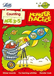 Counting Age 3-5 (Letts Monster Practice)