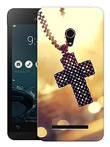 "Humor Gang Christ Locket Printed Designer Mobile Back Cover For ""Asus Zenfone 5"" (3D, Matte Finish, Premium Quality, Protective Snap On Slim Hard Phone Case, Multi Color)"