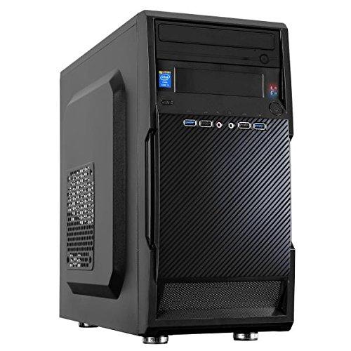 Nilox mini tower desktop pc, processore intel core i3, memoria ram da 4 gb, ssd 240 gb