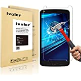 Motorola Moto X Force Protection écran, iVoler® Film Protection d'écran en Verre Trempé Glass Screen Protector Vitre Tempered pour Motorola Moto X Force/Droid Turbo 2- Dureté 9H, Ultra-mince 0.20 mm, 2.5D Bords Arrondis- Anti-rayure, Anti-traces de doigts,Haute-réponse, Haute transparence- Garantie de Remplacement de 18 Mois